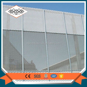 Perforated ourdoor building fine aluminum curtain wall decorative mesh
