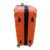 Manufacturer high quality ABS Orange suitcase travel trolley set airplane wheels luggage cases