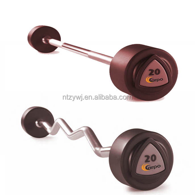 Rubber Fixed Barbell