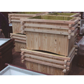 High Quality Customized Anticorrosive Wood Planter for Outdoor
