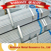 STEEL SHEDS USED GALVANIZED ROUND TUBE