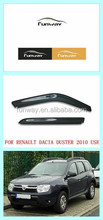 RENAULT DACIA DUSTER 2010 TWO COLORS CAR DOOR VISOR RAIN DEFLECTOR