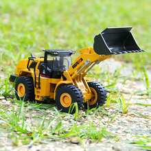 1:50 Engineering Construction Machine Alloy Metal Loader Model