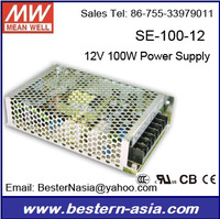 LPS-100-12 Mean well 12V 100W power supply Meanwell SE-100-12