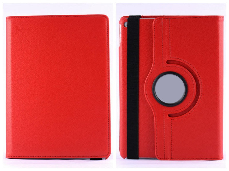 In stocks 1pcs Retail 360 Degree Rotate Leather PU Case For iPad 2/3/4 PU Smart Case Cover