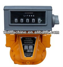 meter with mechanical totalizer