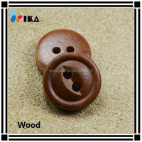 natural wooden buttons with 2 holes wholesale natural wooden buttons customized bulk