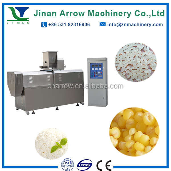 280kg/h Broken Rice Made Nutritional Food Artificial Rice Extruder