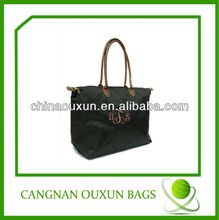 fashion oxford folding shopping bag