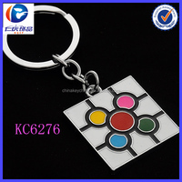 Wholesale metal cell phone accessory keychain for promotion gift