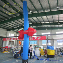 outdoor advertising mini inflatable sky with air dancer blower