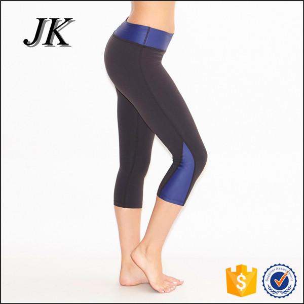 Wholesale women wear compression tight Capri yoga pants