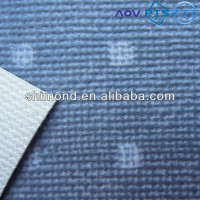 Dots printing design embossed surface pvc synthetic leather for car interior
