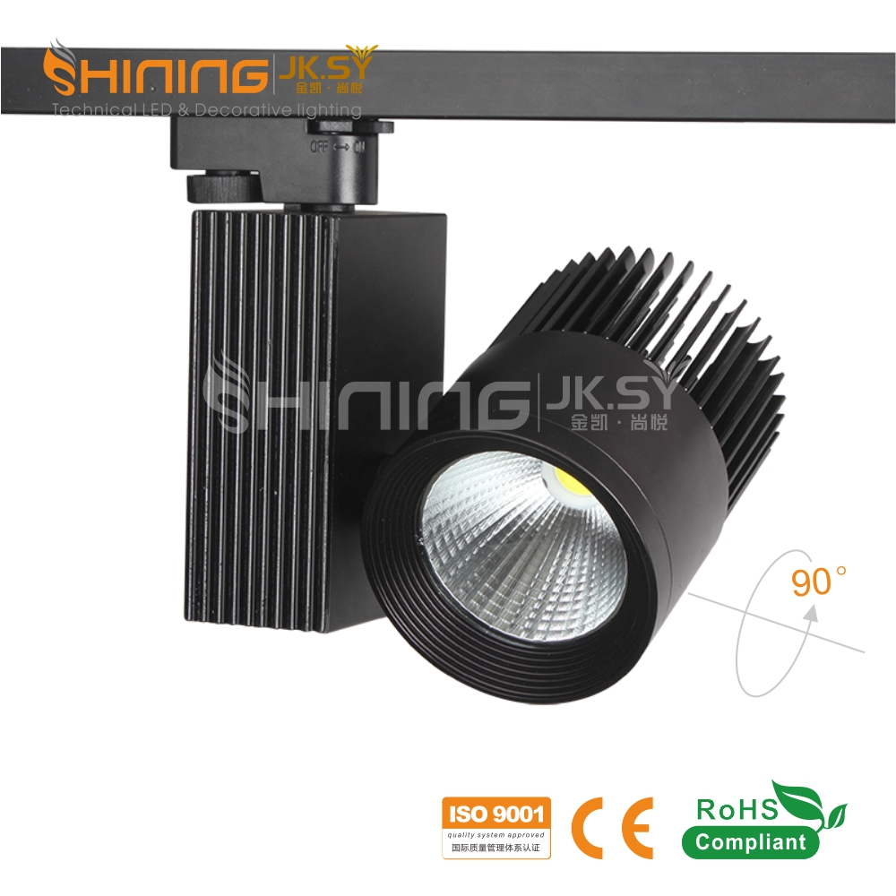 New Design Dimmable 20W 30W 40W Led Track Light Lamp Fixture, Cob Led Track Spot Light China Manufacturer Wholesale Price