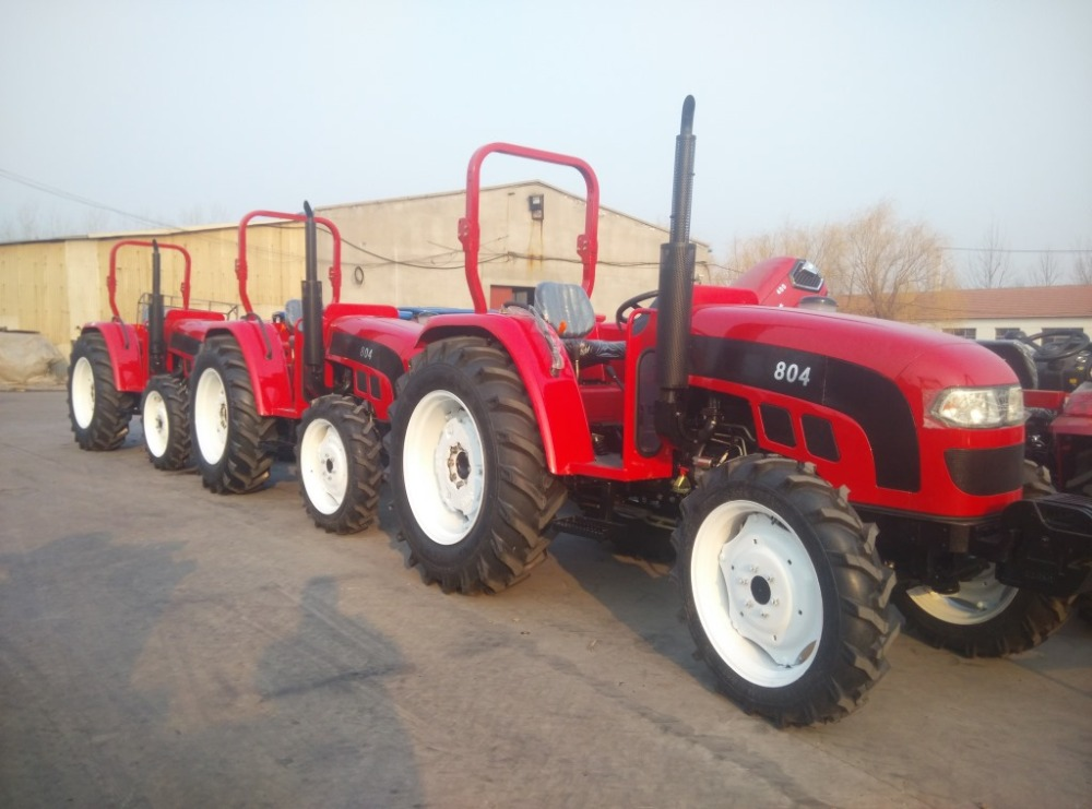 China Cheap 50HP FOTON LOVOL 4WD narrow track farm tractor TE504 for sale