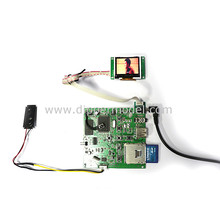 "1.5""~15"" 5V 12V small size working LCD TV for architectural model layout"