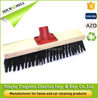 use of soft broom floor long bristle plastic broom