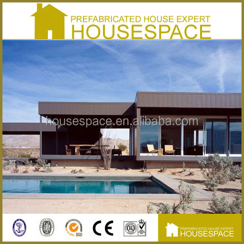 Prefab Environmental Friendly Light Steel Frame House for Living
