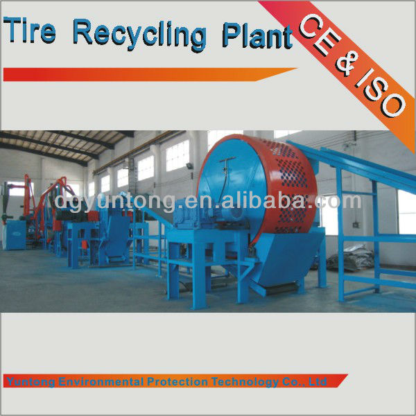 used Tire Recycling Machine