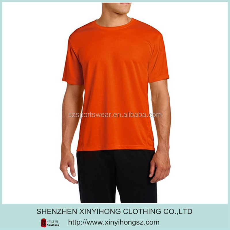 100% polyester mesh fabric blank dri fit t-shirts wholesale , xxxl golf shirts with your logo