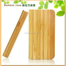 flip wallet case cover for iphone 4/4s ,book style bamboo flip case for iphone5/5s/5c