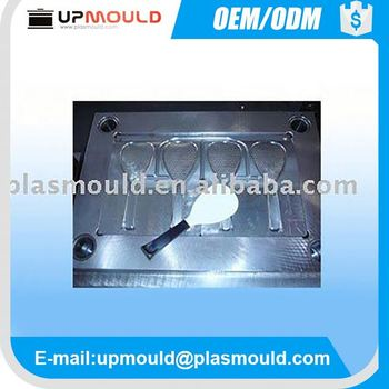 plastic injection mould price spoon for rice/soup mould