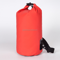 500D Material and External Frame Type waterproof bag with top strap