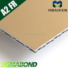 fire rated/retardant/resistant wall cladding corrugated core aluminum composite panel