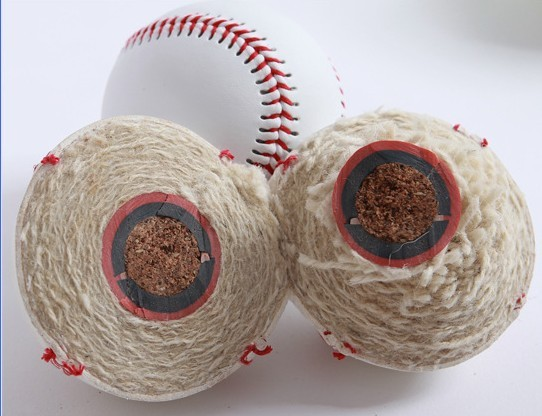 High Quality Professional Cow Leather Training Baseball Pvc PU