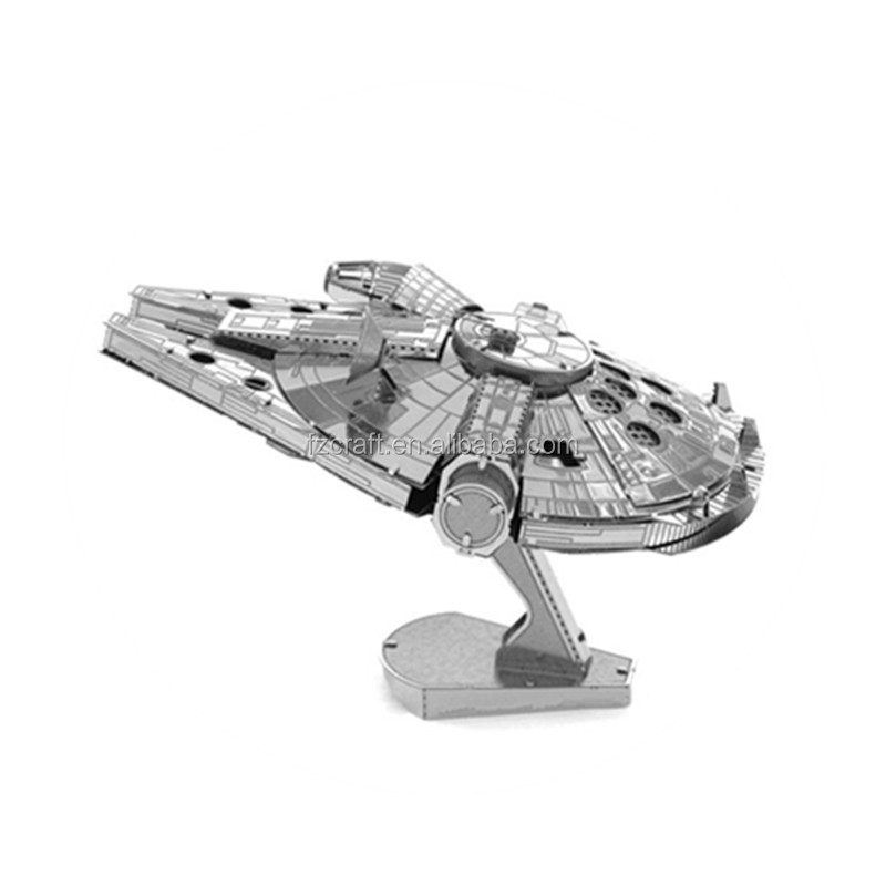 3D Metal tank Star Puzzle War AT-AT Walker R2D2 TIE Fighter Millennium Falcon 10179 Destroyer X Wing robot toy