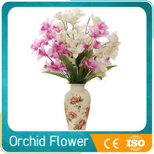 wholesale cheap decorative artificial fabric orchid flower