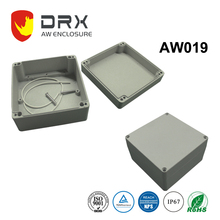 160*160*89.5mm waterproof aluminum industrial instrument enclosures