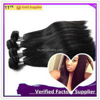 Unprocessed 6A Peruvian Virgin Hair straight Human Hair Weave virgin straight Peruvian Hair Extension 3pcs lot domestic delivery