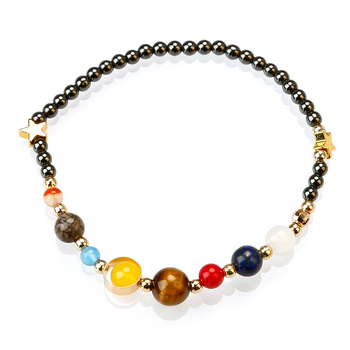 Fashion Solar System Bracelet , Outer Space Bracelet , Planet Bracelet
