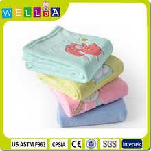 High quality soft plush fleece baby blanket