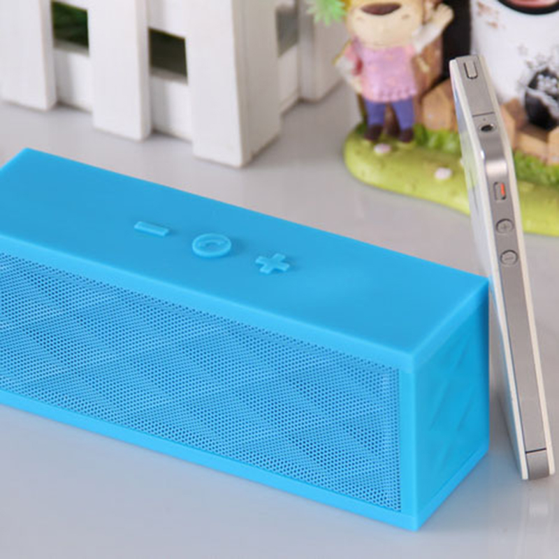 Portable water cube wireless bluetooth amplified speaker