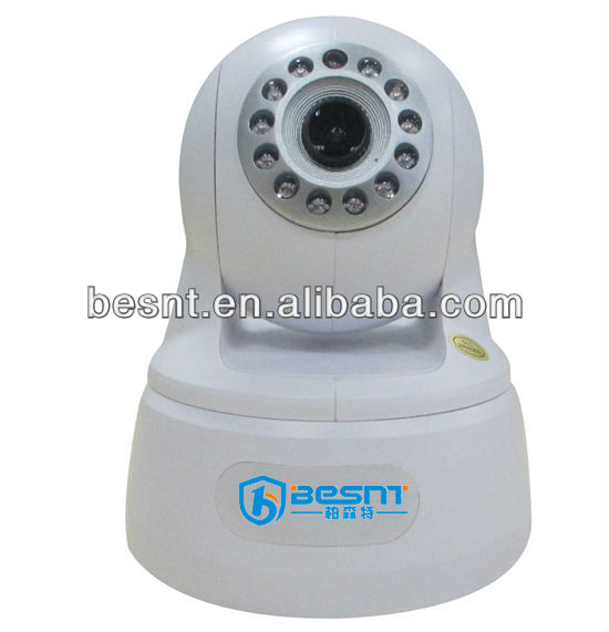 Newest style besnt security H.264 P2P ptz IP dome CCTV Camera night vision wireless digital ip camera system BS-IP18