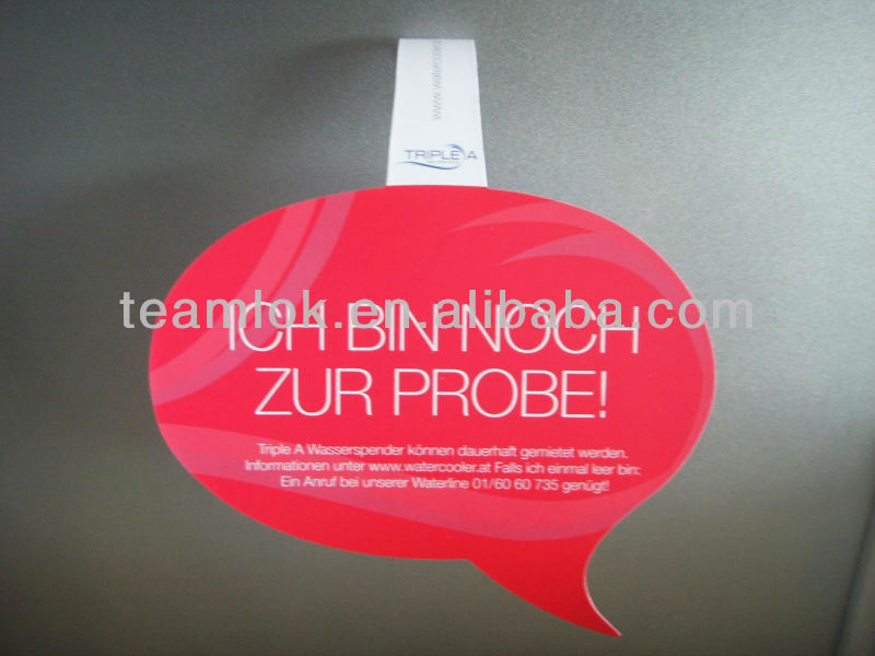 Promotion Advertising Display PVC Print Shelf Wobbler