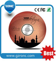Fast delivery Printable DVD R with free label
