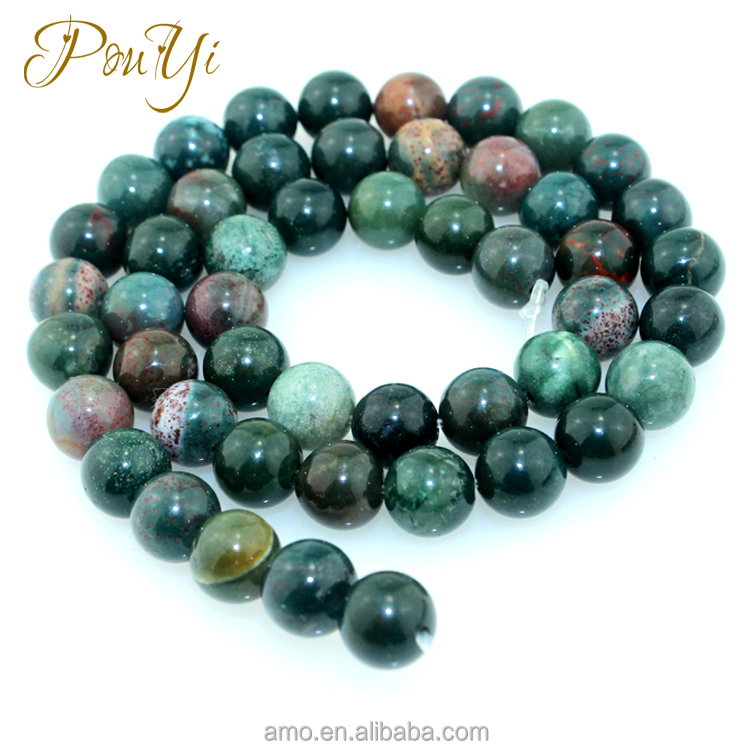 whoslesale India blood jasper green natural agate <strong>stone</strong>