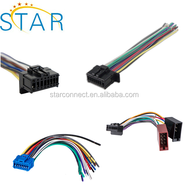 16 Pin Pioneer Car Radio Stereo Iso Wiring Harness Manufacturer - Buy  Pin Pioneer Wiring Harness on pioneer deh 16 manual, pioneer radio wiring diagram, pioneer electronic hat pin, pioneer stereo removal tool homemade, pioneer x5600hd wiring, pioneer electronics lapel pin, pioneer avic-d3 wiring-diagram, pioneer harness metra, pioneer 16 pin wiring adapter, pioneer avh p1400dvd wiring-diagram, pioneer 16 pin connector,