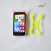 OEM custom silicone mobile phone case bumper phone case with competitive price