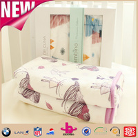soft feel 100% polyester Eco-friendly high quality low price knitted stock baby fleece blanket
