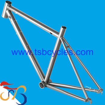 2015 new style titanium road bicycle frame TSB-CBR1001