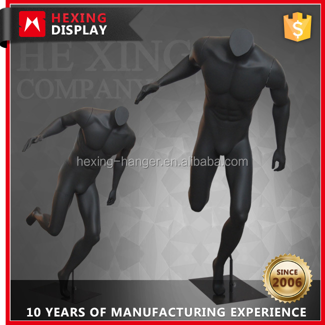 Life Size Man Headless Male Mannequin Doll