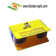 Hot Selling Paper Glasses Gift! Paper 3D Stereo Viewer, Telescope Glasses