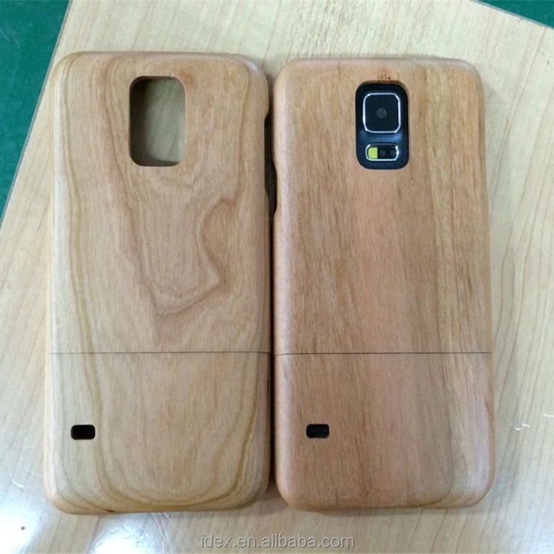 mobile phone wood case for samsung galaxy S5 back cover