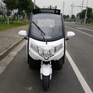 Newest style electric three wheel electric tricycle cheap model