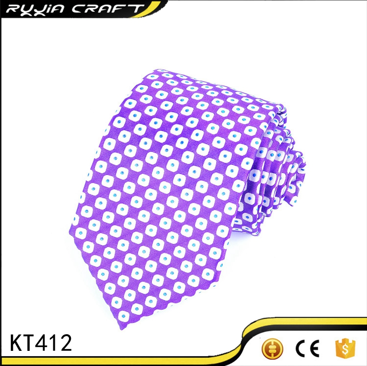 OEM Custom Design Fashion Silk Necktie