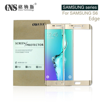 Anti Scratch 9H Screen Protector For Samsung Galaxy S6 edge 3D Full cover Tempered Glass Screen Protector film